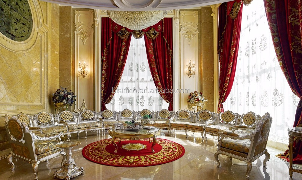 European French Meeting Room 3D Design With Furniture and Decoration Items