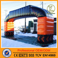 Gaint outdoor advertising inflatable arch/Inflatable lawn event arch