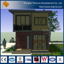 Easy Assembly Movable House, Modular Flat Roof Metal Shed House