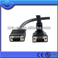 High Resolution 90Degree Down Angle VGA Cable for Monitor