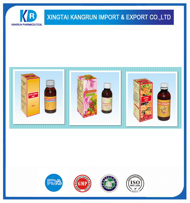 Vitamin B-Complex syrup oem Contract Manufacturing Private Labeling