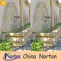 Norton antique home decorative outdoor water wall fountain for sale NTMF-WF007L
