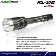 rechargable 18650 battery T6 java flashlight