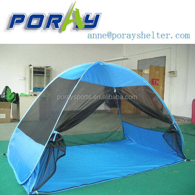 Poray Oversized Pop UP Beach Tent for Set Up and Fold Up in Seconds