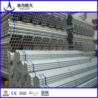 BS1387 galvanized steel pipe/tube for building materials with competitive price in China