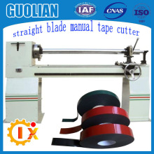 GL-706Low noise double side glue big roll clear bopp packing tape cutting machine