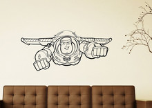 YA177 <span class=keywords><strong>Buzz</strong></span> <span class=keywords><strong>Lightyear</strong></span> Toy Story vinilo Nursery Wall Art niños etiqueta de la pared mural desprendible impermeable