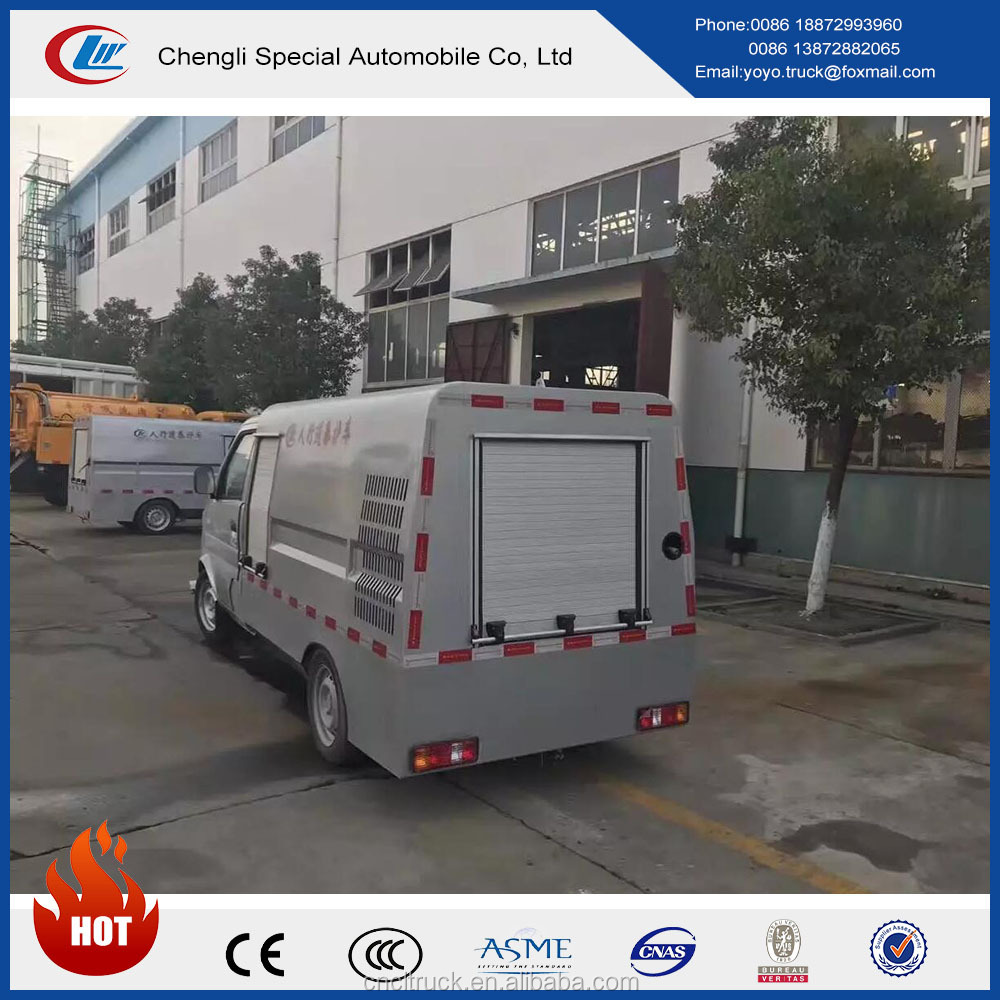 DONGFENG sewage cleaning vehicle 4x2 high pressure washing truck for sale