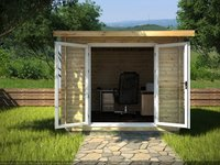 Log Cabin Garden Office