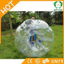 2015 Amazing 1.0mm or 0.8mm TPU\PVC top quality and lower shipment inflatable bump\bumper\belly\football buddy bumper ball
