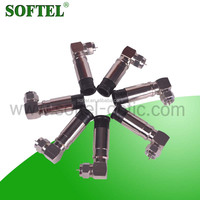 SOFTEL 2014 90 degree cable connector/plastic compression cable connector