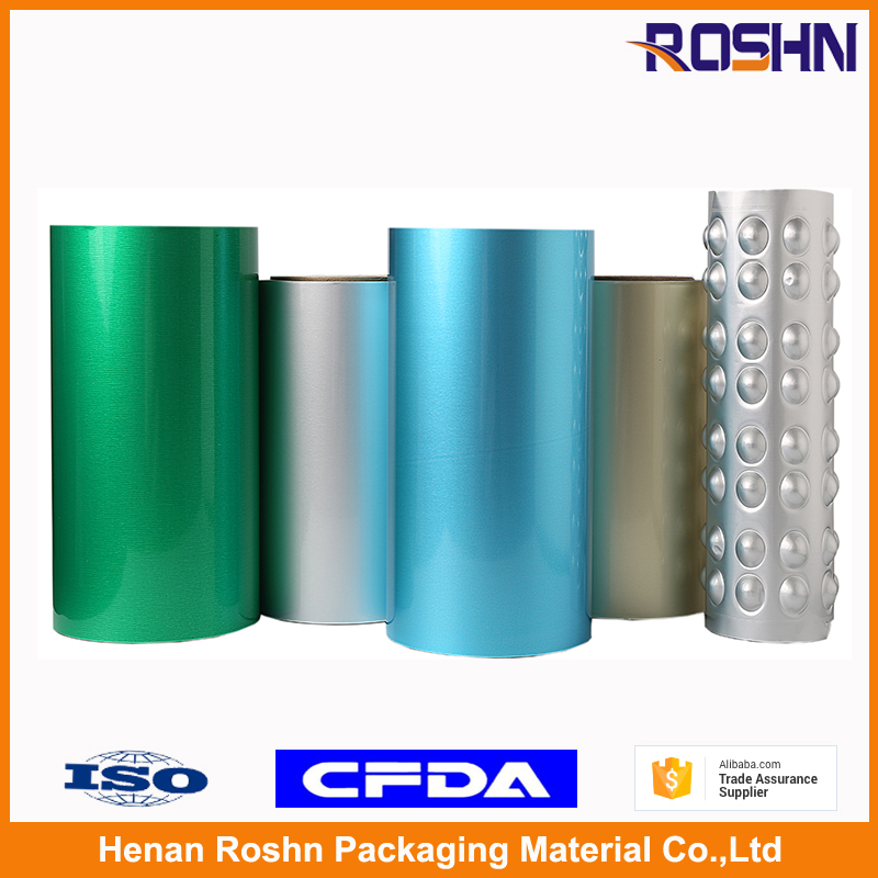 Brand ROSHN Pharmaceutical Cold Forming Aluminum Foil for medical packaging Alu Alu foil