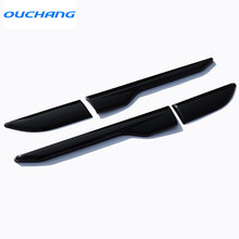 2pcs/set Side Fender Sticker For Land Rover Range Rover Evoque ABS Chrome Car Accessories 2011+