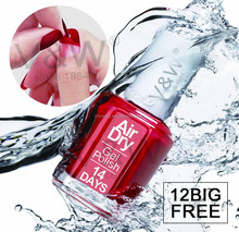 Long lasting air dry moisturizer peel off 14 days beauty product nail polish gel color private label nail polish
