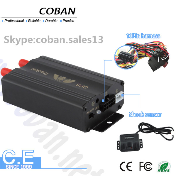 low power consumption gps tracker tk 103 coban with sleep mode & Android IOS APP gps car tracker