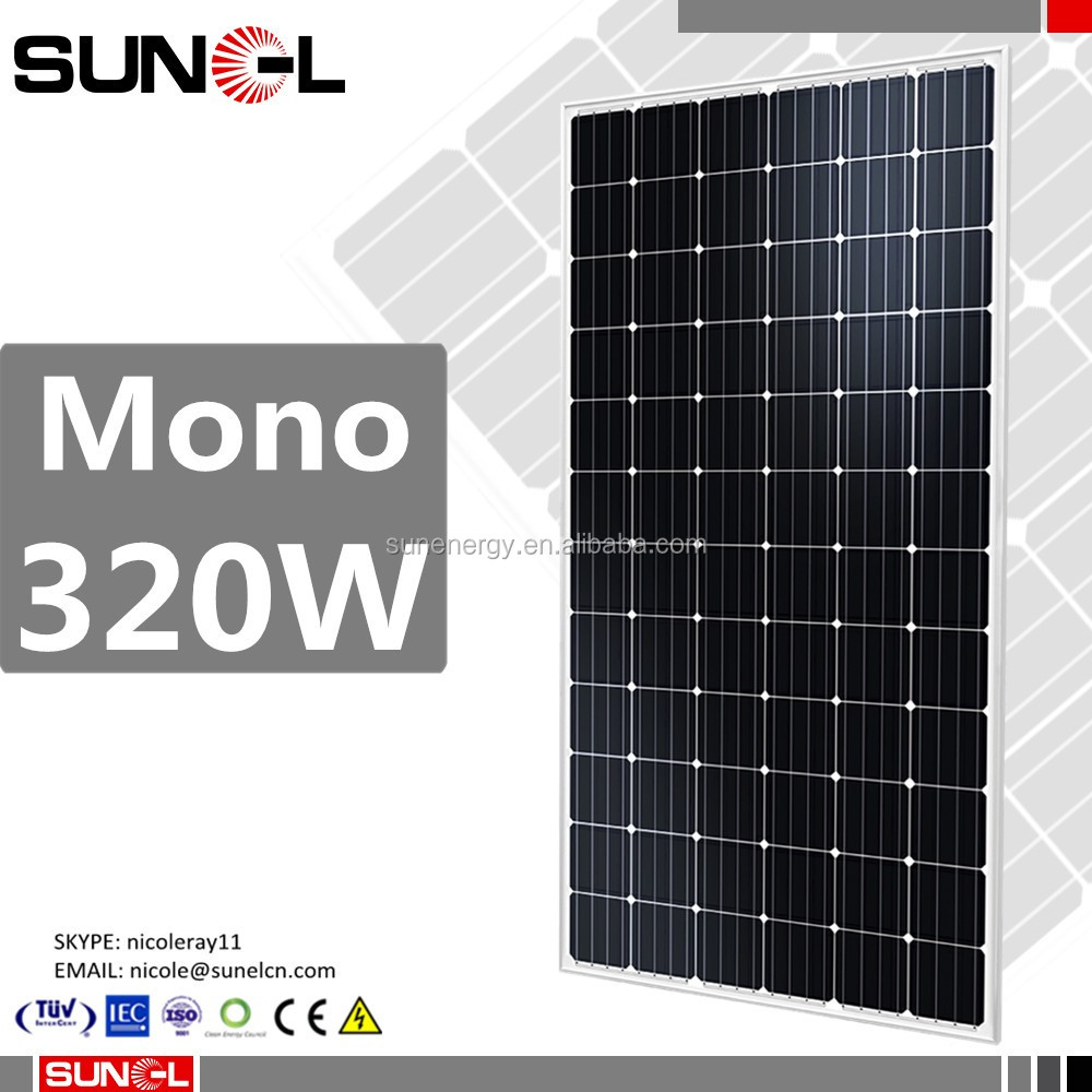 48 volt mono solar panels with class C fire safety classfication