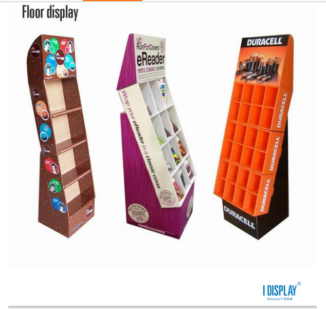 Vanishing Cardboard Retail Pallet Display For Promotion