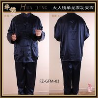 Fashionable useful newly men's satin pajamas fabric