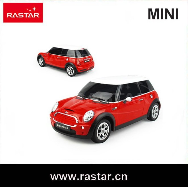 Rastar rc toys Mini Coopers kids cars racing car for sale