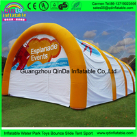 Guangzhou manufacturer produces low price dome inflatable tent canopy for trailer hot sale in arabic market