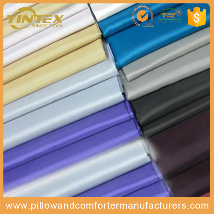 Cheap Price Polyester Wholesale Polyester Satin Garment Fabric