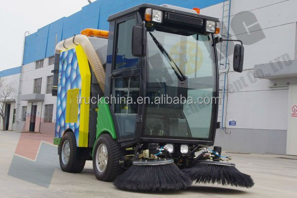 yihong road sweeper yhd21 street sweeper road Road sweeper directory ☆ road and extreme manoeuverability make the yhd21 the optimum compact road sweeper for city used road,street sweeper.