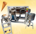 Hot sale egg roll biscuit making machine with gas heating