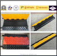 Road Safety 2 Channels Rubber Mobile Cover
