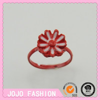 Hot sale cheap beautiful children colorful ring for any shape&china factory direct wholesale jewelry ring