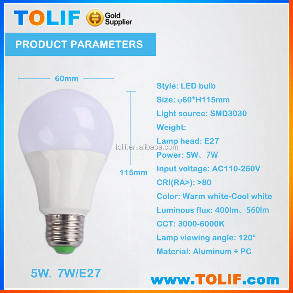 High quality China Manufacturing Plant Electric LED Bulb