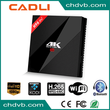 Wholesale Amlogic S912 4K H96 pro+ android 7.1 octa core 2gb ram 16gb rom smart kodi internet tv box