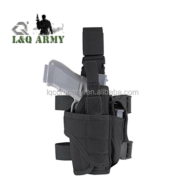 Drop Leg Holster, Right Handed Tactical Thigh Pistol Gun Holster Leg Harness