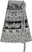 Rajasthani traditional Wrap around beach skirt & sarong