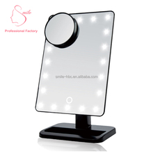 China factory new product LED Smart make up vanity mirror with lights free sample