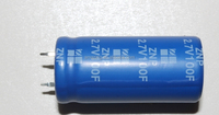 super capacitor high voltage 2.7v series/ promoting prices