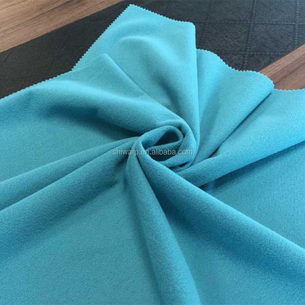 Super Poly tricot fabric sofa cover waterproof garment material by china supplier