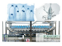 MIC-48H automatic beverage glass bottle washing machine
