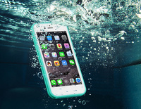 Custom TPU Soft Protective Phone Case Waterproof for iPhone 6 Case with High Quality