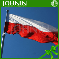 Euro Cup 3x5 foot customize printed national country 2012 poland flag