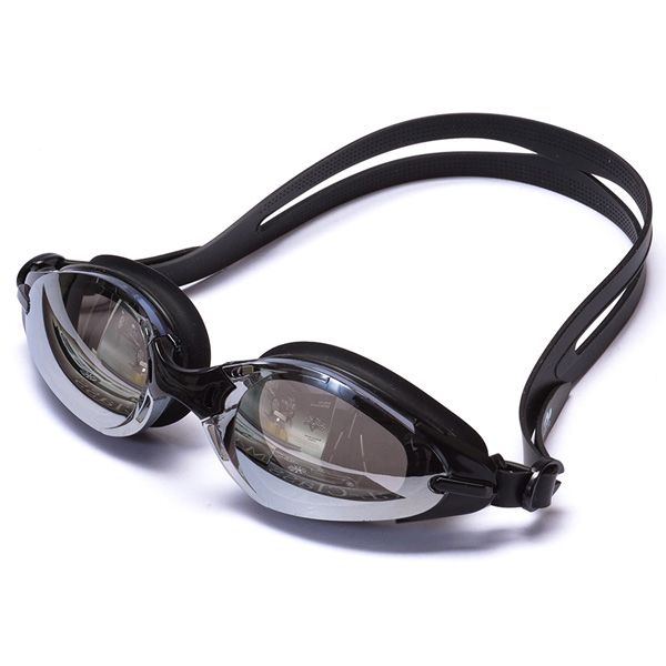 Silicone Swim Goggles Anti-Fog Waterproof Mirrored Professional Swimming Glasses
