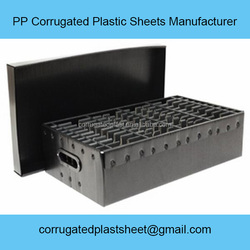polypropylene pp antistatic plastic container