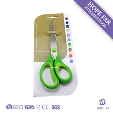 0200159 High quality stainless steel long blade home scissors