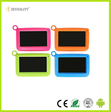leather keyboard case tablet pc for kid eaducation with good quality