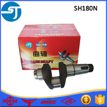 Single cylinder water-cooled diesel engine parts SH180N crankshaft