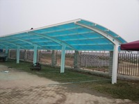 Cheap metal frame car carports / garage shed for sale