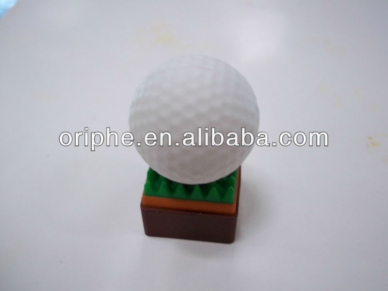 promotional gift golf ball shape usb drive 1gb to 64gb
