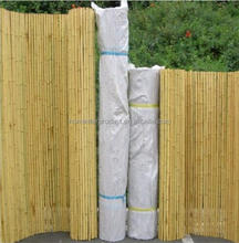 2016 new design cheap bamboo fencing and bamboo pole and rolled bamboo fence