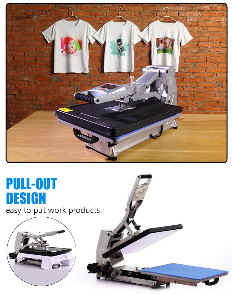 Sunmeta heat press machine sublimation printing heat for Heat press shirt labels