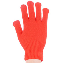 acrylic knitted jacquard touch screen sensitive gloves