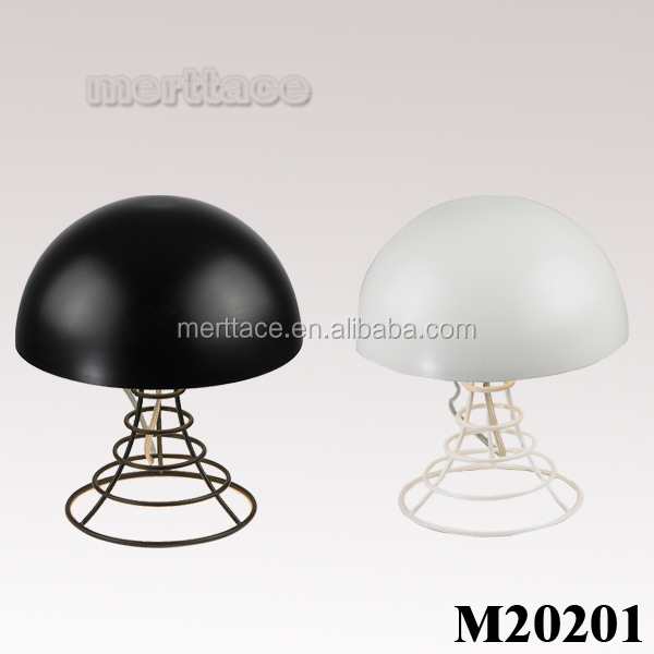 CE modern kid antique shade metal E27 table lamp
